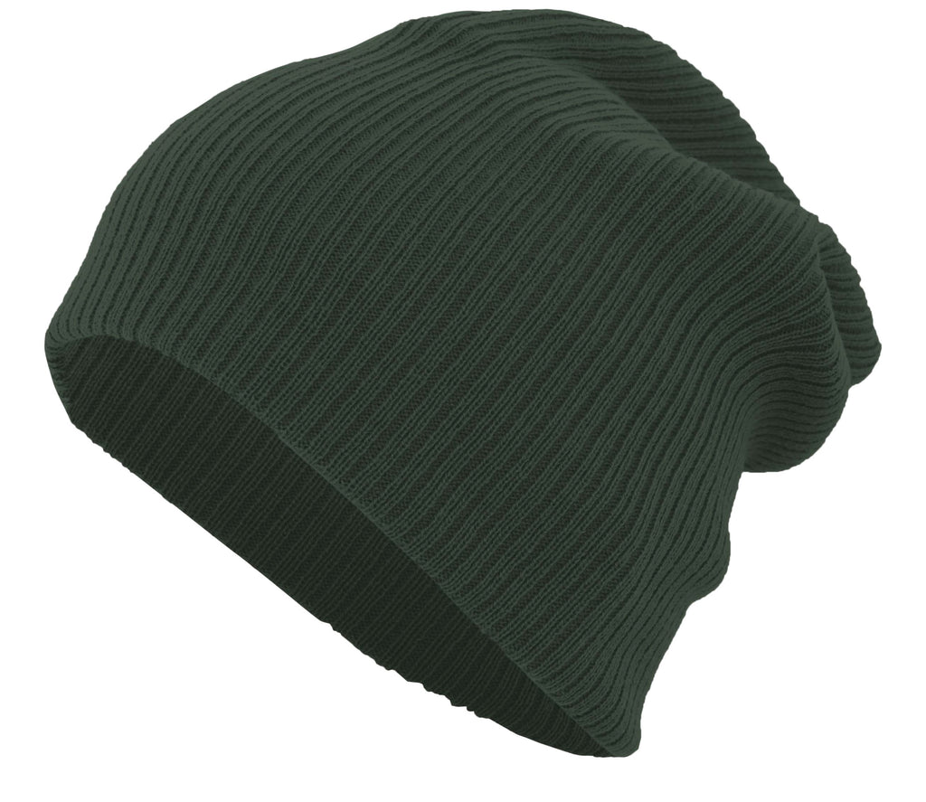 Pacific Headwear SB02 Slouchy Beanie - Forest - HIT A Double