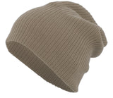 Pacific Headwear SB02 Slouchy Beanie - Latte - HIT A Double