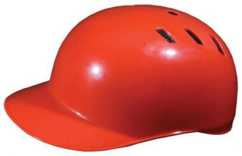 Diamond DCH-SKULL CAP Adult Catcher's Base Coach Helmet - Scarlet