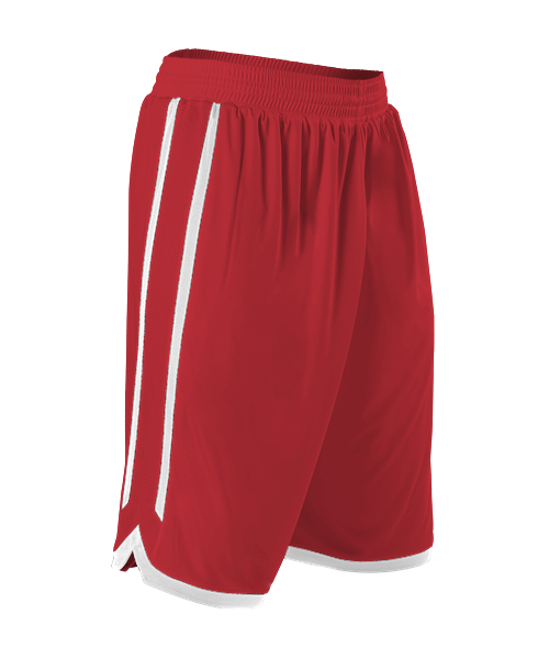 e72583a3c7c Alleson 588PY Youth Reversible Basketball Short - Scarlet White