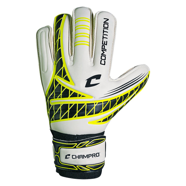 Champro SG5 Competition Goalie Glove - Optic Yellow - HIT A Double