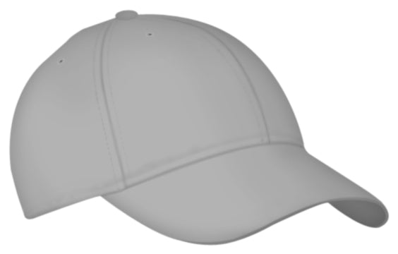 Alleson 3CCTY Youth Six Panel Baseball Cap - Silver