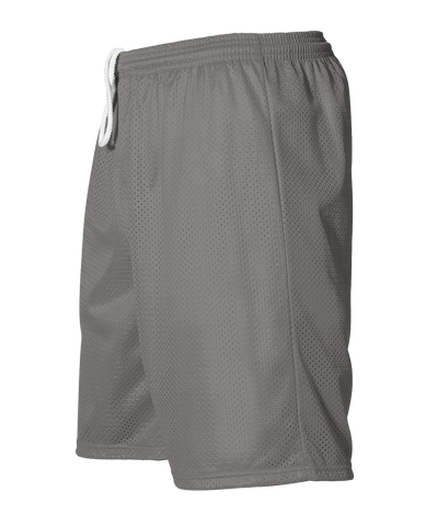 Alleson 566PY Youth Extreme Mesh Unisex Short - Silver - HIT A Double