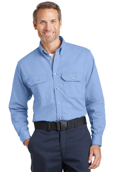 Bulwark SLU2 Excel Fr Comfortouch Dress Uniform Shirt - Light Blue