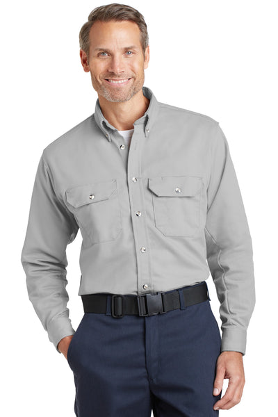 Bulwark SLU2 EXCEL FR ComforTouch Dress Uniform Shirt - Silver Gray - HIT A Double