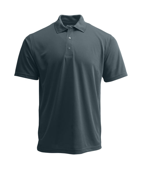 Paragon 100 Adult Solid Mesh Polo - Carbon