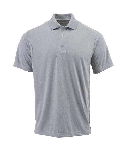 Paragon 100 Adult Solid Mesh Polo - Heather Gray - HIT A Double
