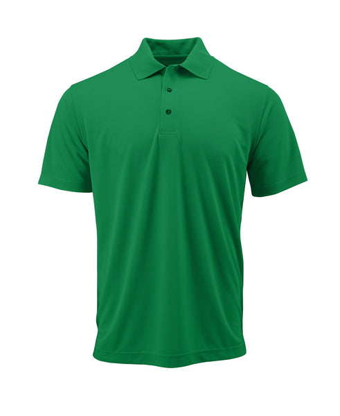 Paragon 100 Adult Solid Mesh Polo - Kelly