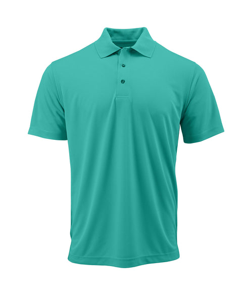 Paragon 100 Adult Solid Mesh Polo - Sea Green - HIT A Double