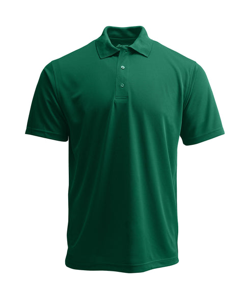Paragon 100 Adult Solid Mesh Polo - Hunter - HIT A Double