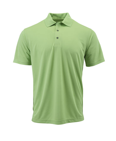 Paragon 100 Adult Solid Mesh Polo - Kiwi - HIT A Double