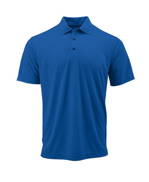 Paragon 100 Adult Solid Mesh Polo - Royal - HIT A Double