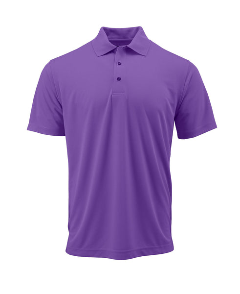 Paragon 100 Adult Solid Mesh Polo - Grape - HIT A Double