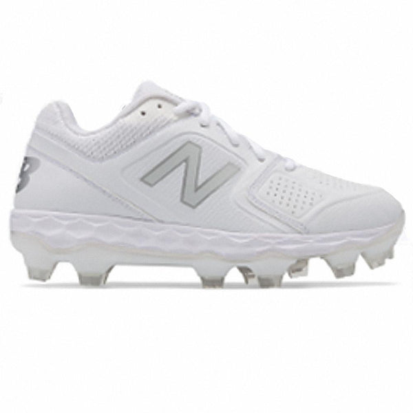 New Balance SPVELv1 Fastpitch TPU Molded Cleat Low-Cut - White