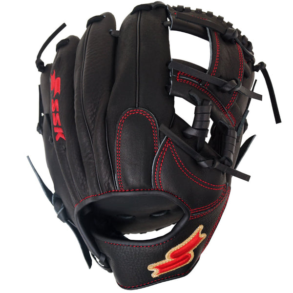 "SSK Red Line Spiral I-Web 11.50"" Infield Glove - Black Red"