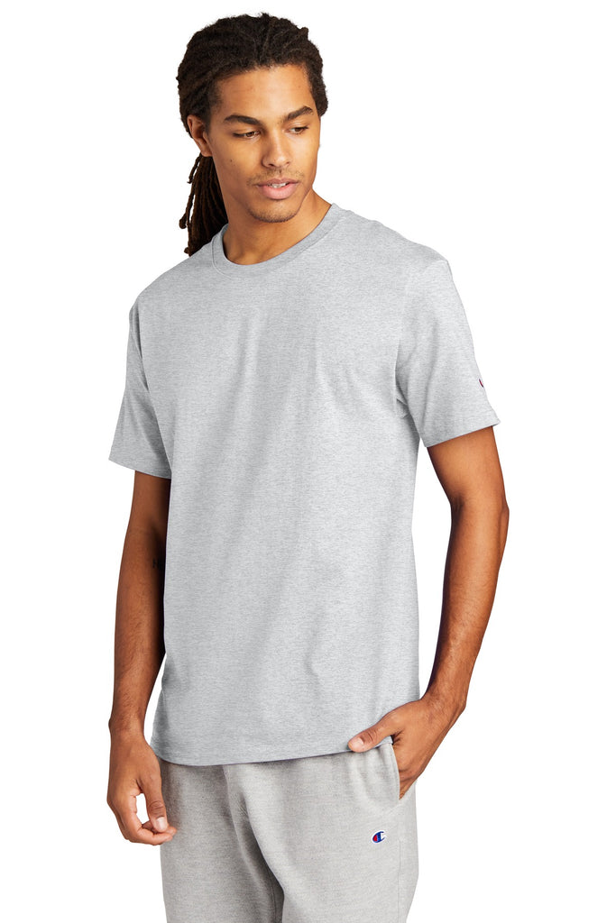 Champion T425 Heritage 6-oz Jersey Tee - Ash - HIT A Double