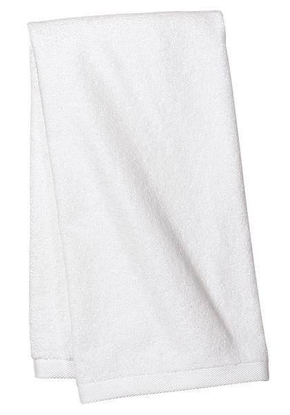 Port Authority TW52 Sport Towel - White