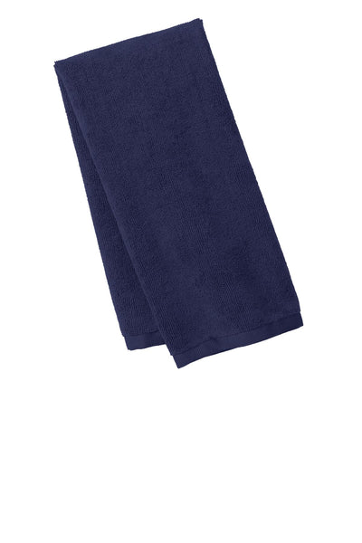 Port Authority TW540 Microfiber Golf Towel - True Navy - HIT A Double