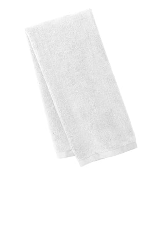 Port Authority TW540 Microfiber Golf Towel - White - HIT A Double