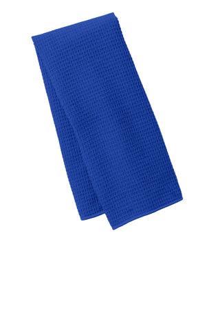 Port Authority TW59 Waffle Microfiber Fitness Towel - Royal