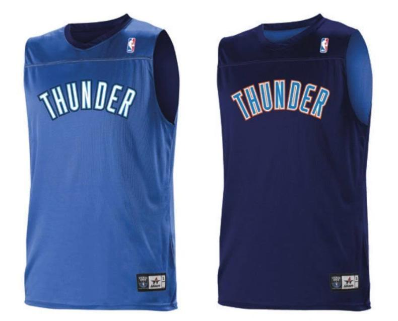 8654522f7 Alleson A105LY Youth NBA Logo Reversible Jersey - Oklahoma City Thunde – HIT  A Double