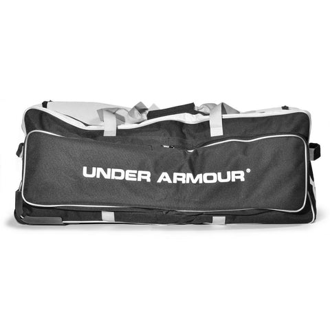 Under Armour Professional Catcher's Bag with Wheels - Black - Baseball Bags, Softball Bags - Hit A Double - 1