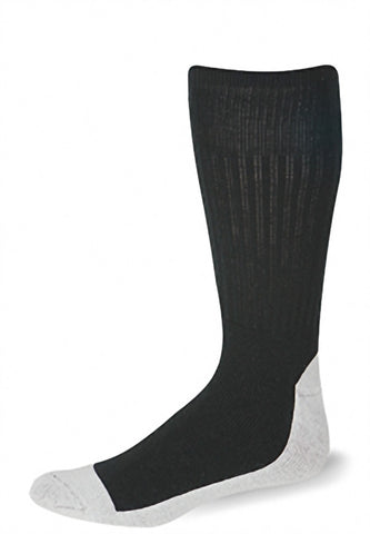 Pro Feet 218M/3 Health (3 Pack) - Black Natural Foot - Work Wear - Hit A Double