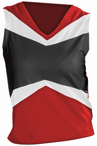 Pizzazz Premier Uniform Shells - Red Black