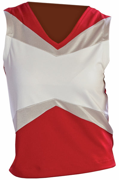 Pizzazz Premier Uniform Shells - Red White