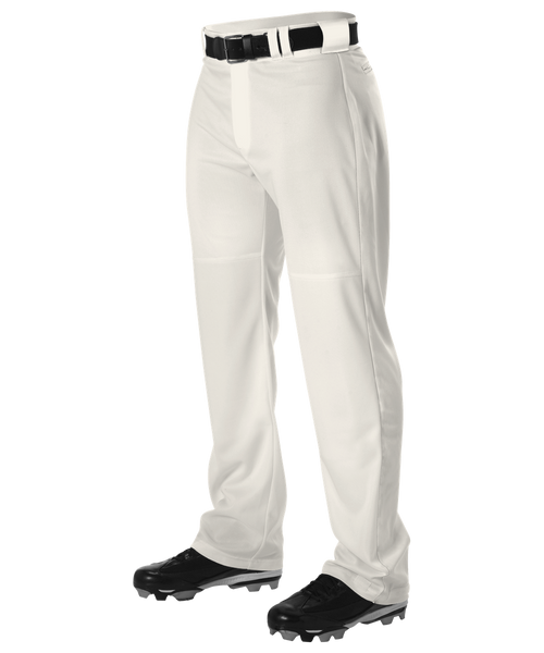 Alleson PWRPPY Youth Warp Knit Wide Leg Baseball Pant - Vintage White - Baseball Apparel - Hit A Double
