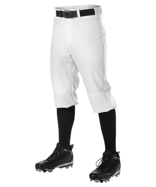 Alleson 605PKN Adult Baseball Knicker Pant - White