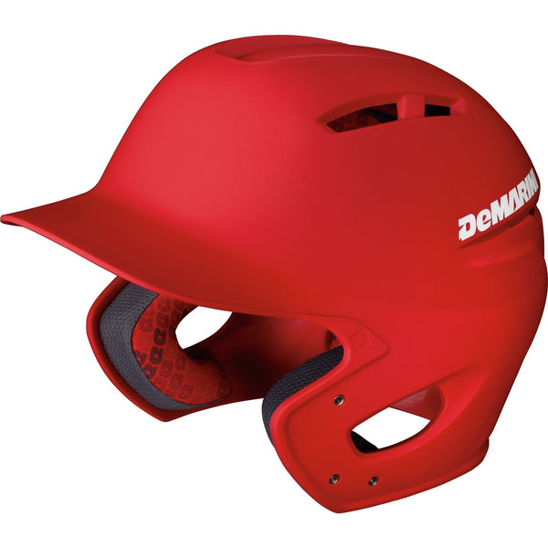 DeMarini Paradox Adult Fitted Pro Helmet - Scarlet