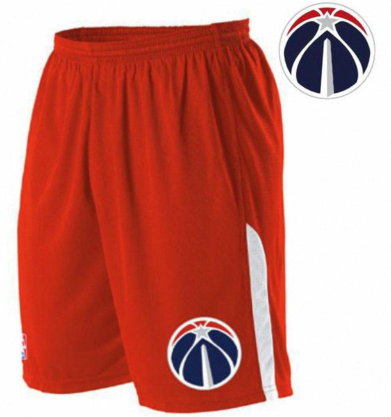 Alleson A205LY Youth NBA Logo Game Short - Washington Wizards