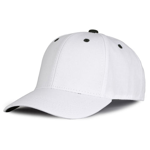 The Game GB2016 White Snapback Cotton Twill Cap - White Dark Green