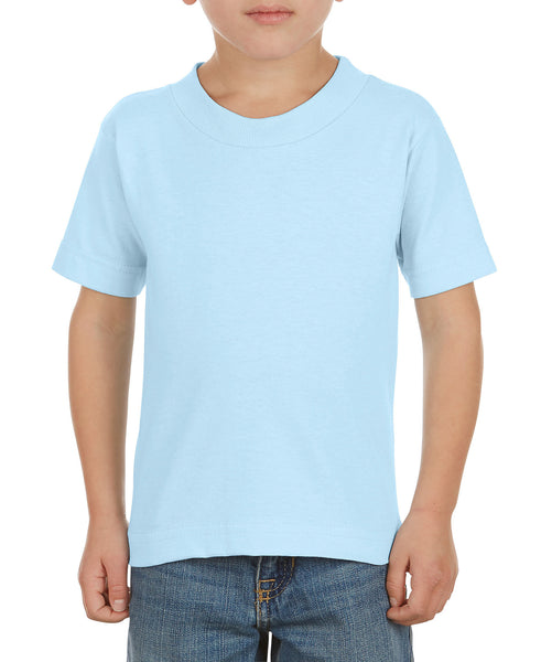 Alstyle 3380 Classic Toddler Tee - Powder Blue - HIT A Double