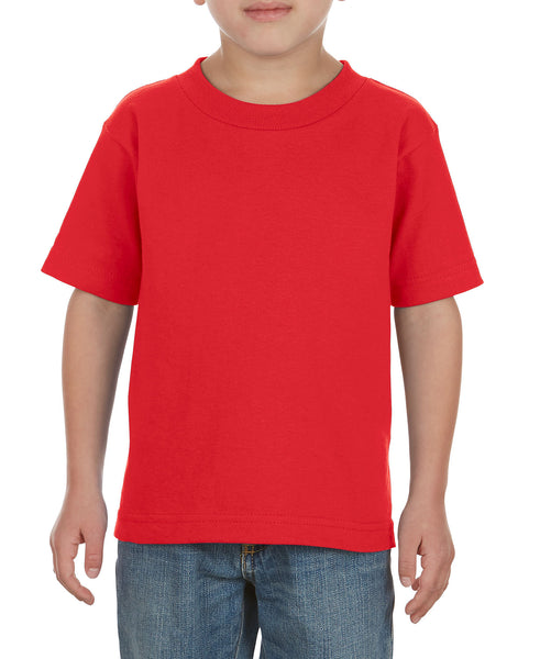 Alstyle 3380 Classic Toddler Tee - Red - HIT A Double