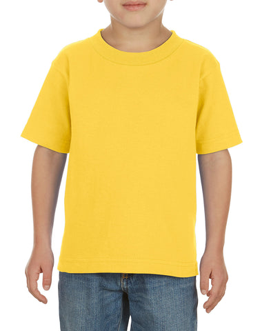 Alstyle 3380 Classic Toddler Tee - Yellow - HIT A Double