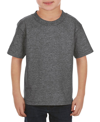 Alstyle 3383 Classic Juvy Toddler Tee - Charcoal Heather - HIT A Double