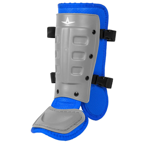All-Star Universal Batter's Ankle Guard LGB3 - Graphite Royal - HIT A Double