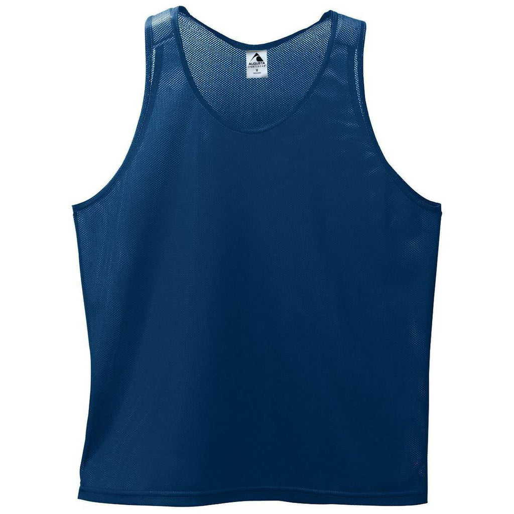Augusta 133 Mini Mesh Singlet - Navy - HIT A Double