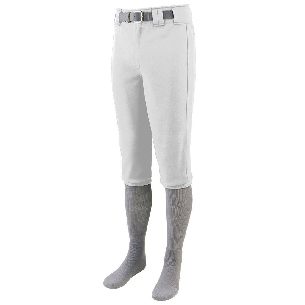 Augusta 1453 Series Baseball Pant Youth - White - HIT A Double