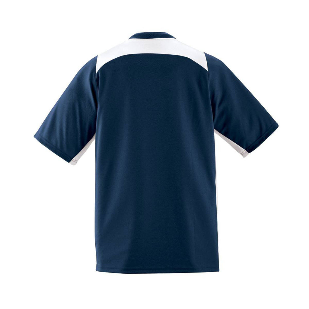 Augusta 1520 Gamer Jersey - Navy White - HIT A Double