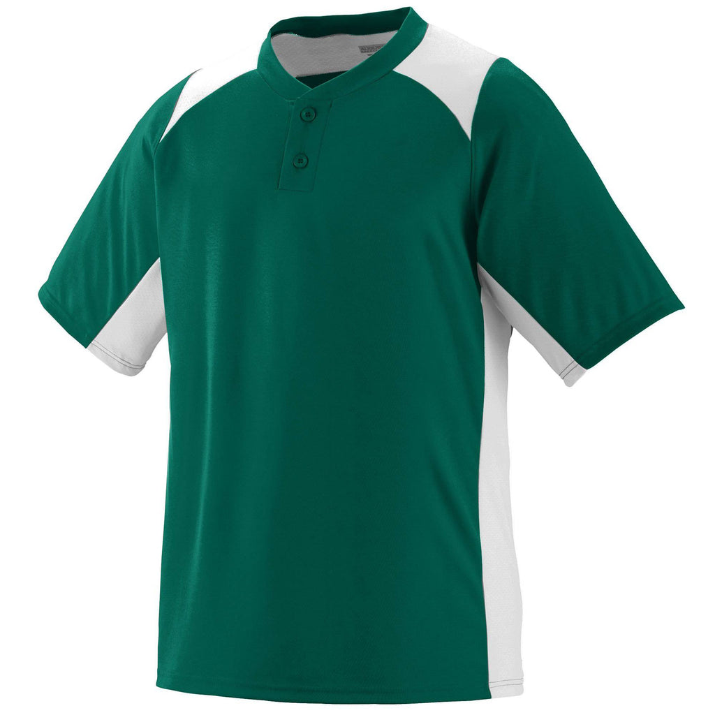 Augusta 1521 Gamer Jersey - Youth - Dark Green White