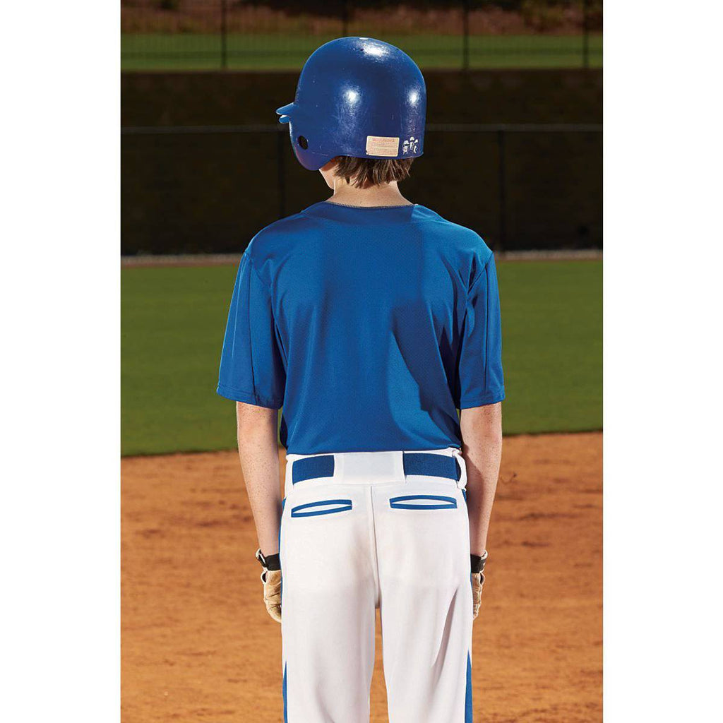 Augusta 1546 Flyball Jersey - Youth - Navy Red - HIT A Double