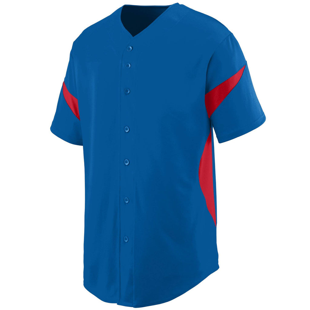 Augusta 1650 Wheel House Jersey - Royal Red - HIT A Double