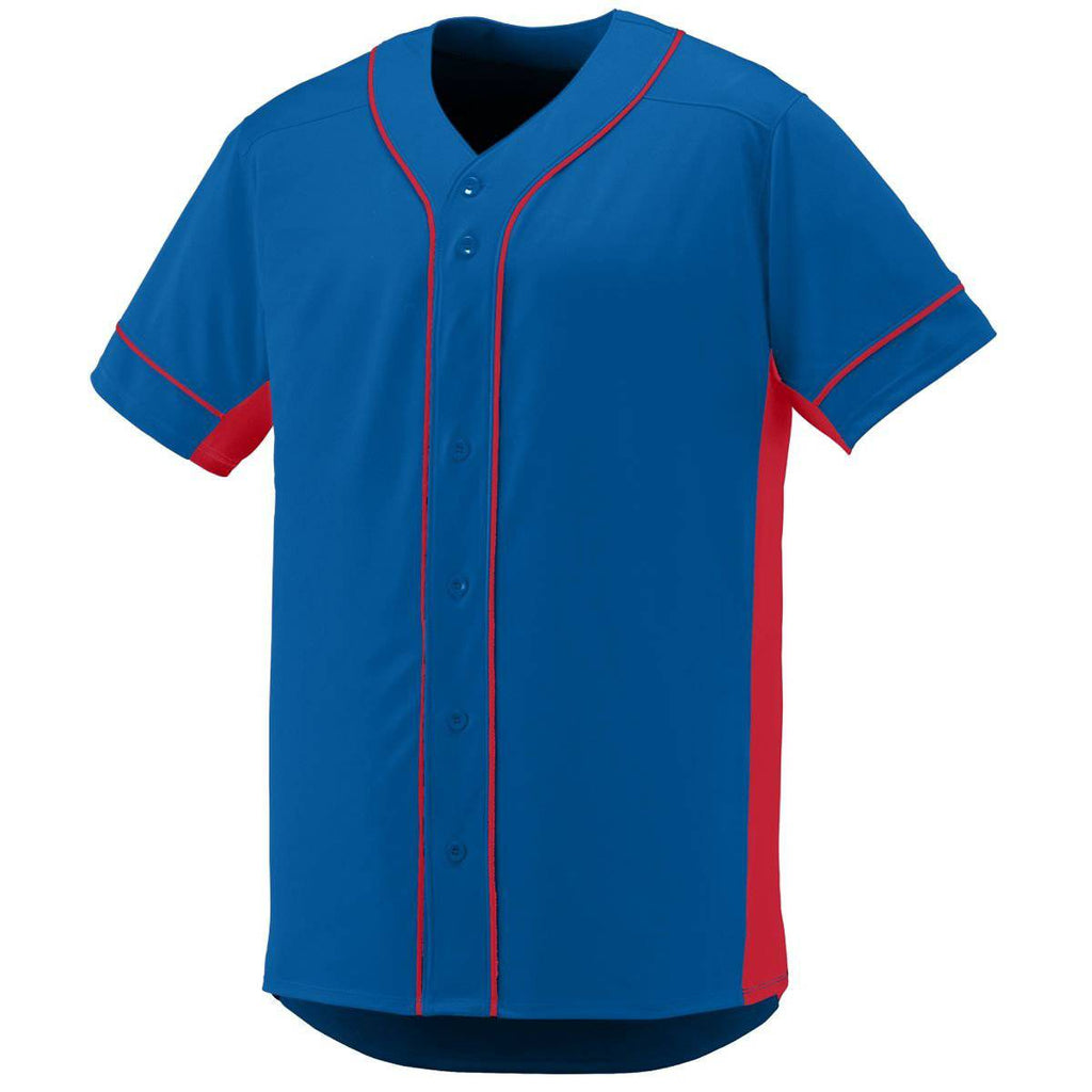 Augusta 1660 Slugger Jersey - Royal Red