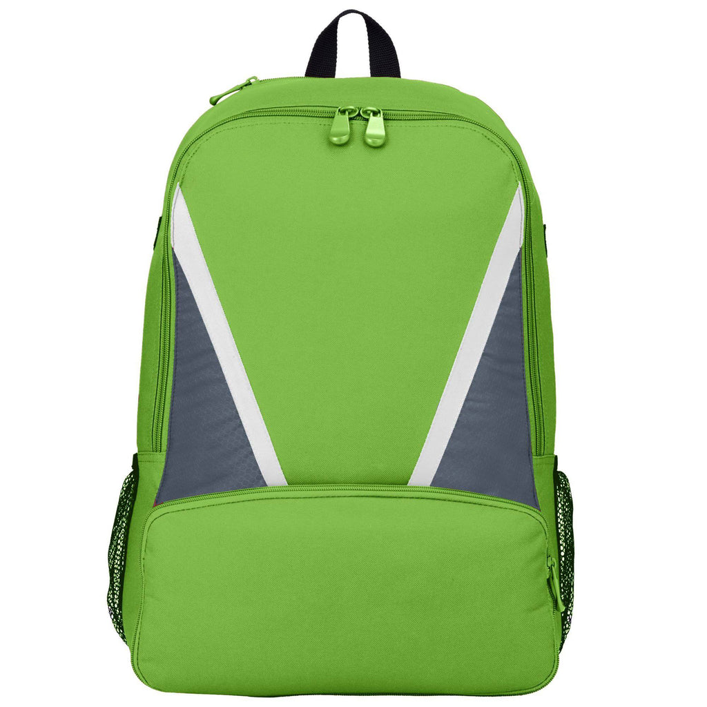 Augusta 1767 Dugout Backpack - Lime Graphite White - HIT A Double