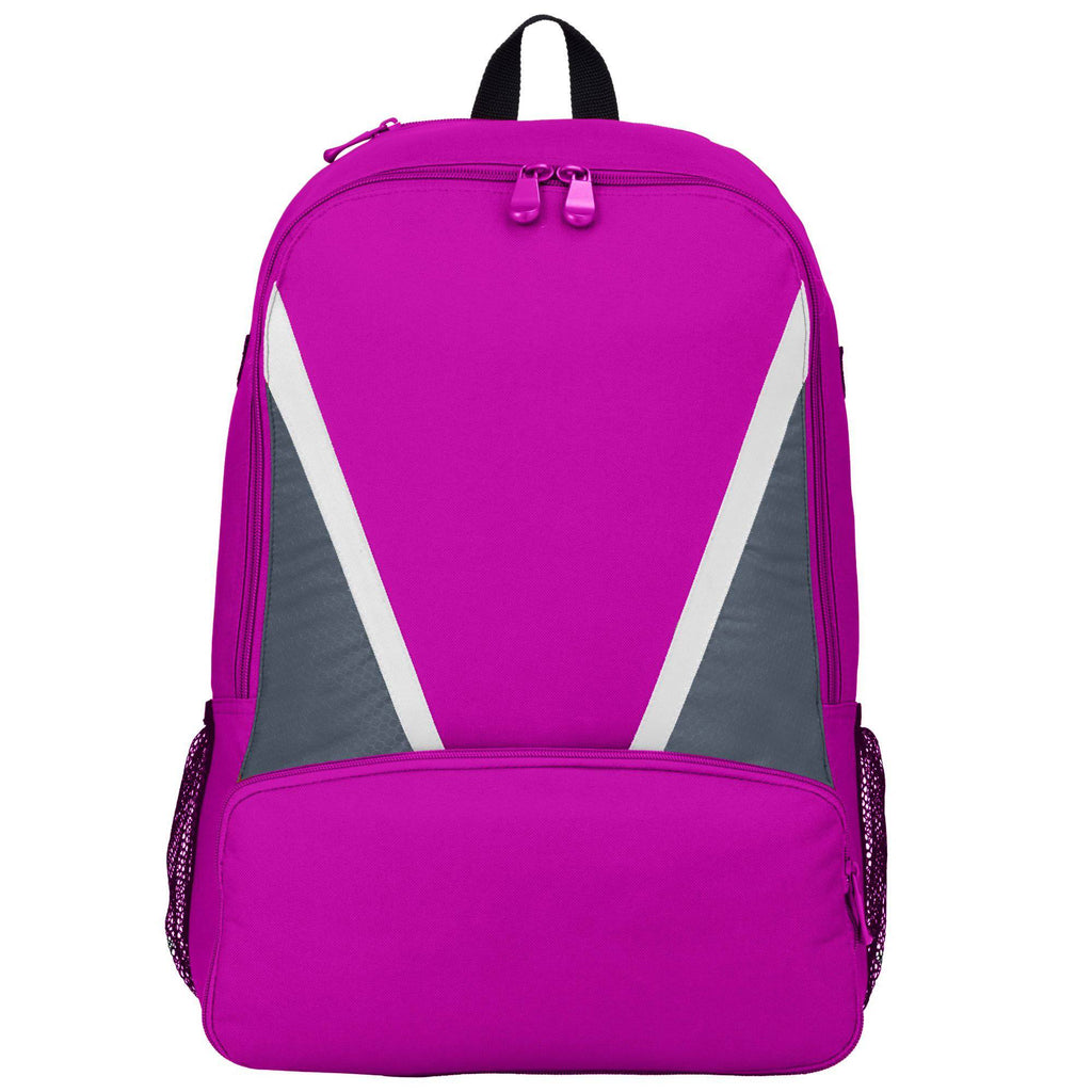 Augusta 1767 Dugout Backpack - Power Pink Graphite White - HIT A Double