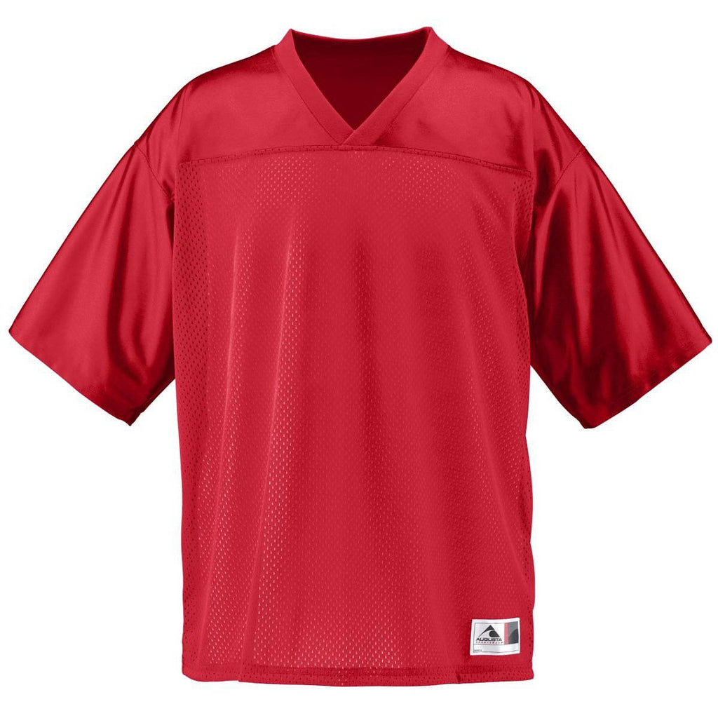 Augusta 258 Stadium Replica Jersey - Youth - Red - HIT A Double