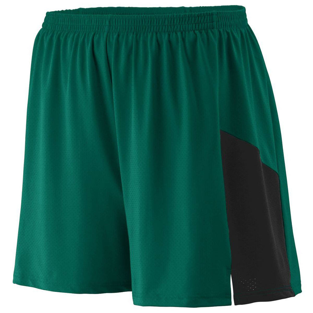 Augusta 336 Sprint Short - Youth - Forest Black - HIT A Double